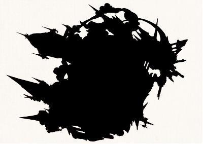 グラブル「ゼノ・イフリート」のシルエット