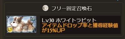 召喚石「ホワイトラビット」