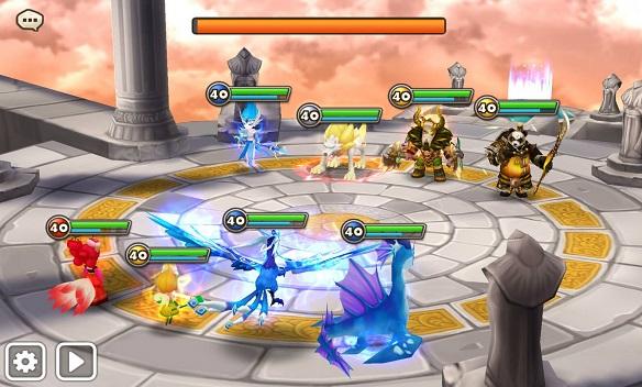 ワールドアリーナ-戦闘
