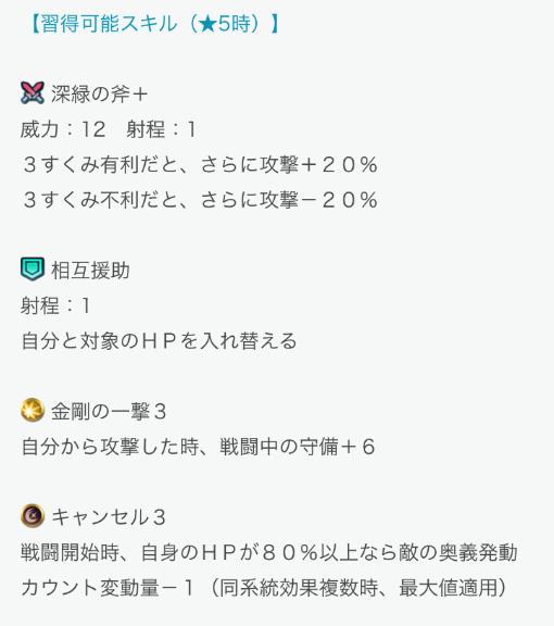 スマホゲーム FEH 蒼炎