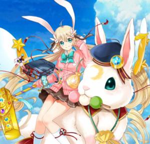 【白猫】神気解放された茶熊ツキミ