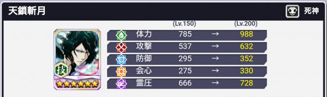 天鎖斬月★6