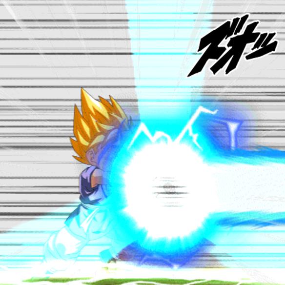 【ドッカンバトル】サイヤパワー全開超サイヤ人孫悟空(GT)はどれだけの火力を出せる?その力を検証してみた!!