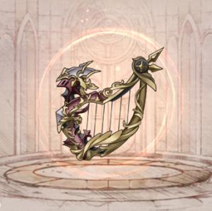 怪鳥の竪琴