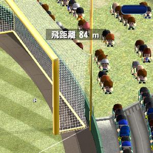 サッカーフィーバーでゴールを決めよう!