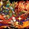 火のアテナであるアテナヘリオスです。降臨キャラでありながら覚醒やリーダースキルはガチャ限に劣りません。