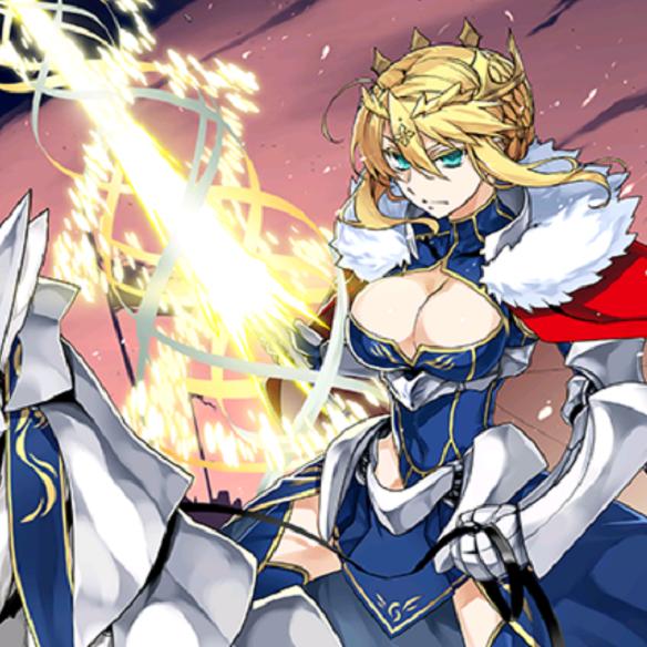 アルトリア・ペンドラゴン(ランサー) 全体宝具アタッカー