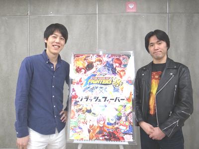 (左)ディレクターの亀井 優一氏と、 (右)プランナーの久保 元秀氏。