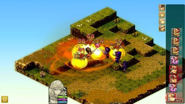 グラナディアサーガ ブシロード シミュレーションRPG