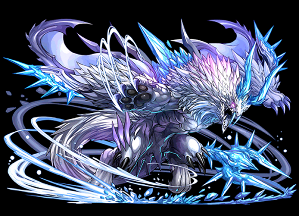 紫棘の霜龍帝・イルシックスです。ナンバードラゴンの1体で6盤面のドラゴンになります。
