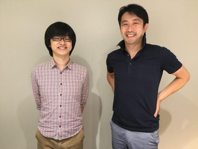左から渡会氏に中村氏