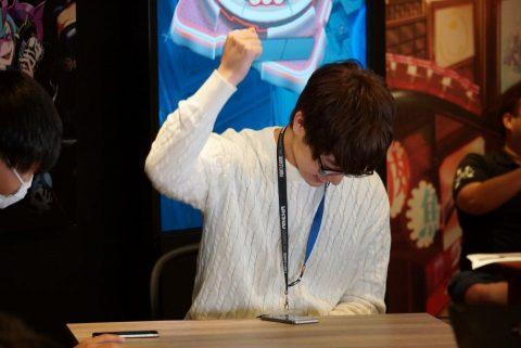 勝利したRyuji