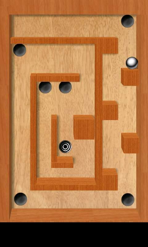 ティルト 3D ラビリンス フリー androidアプリスクリーンショット1