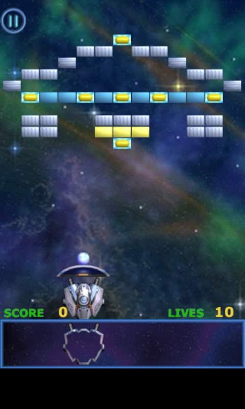 メテオ ブレイクアウト ライト androidアプリスクリーンショット1