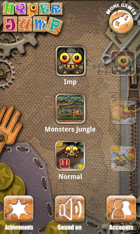 ハイパー ジャンプ androidアプリスクリーンショット2