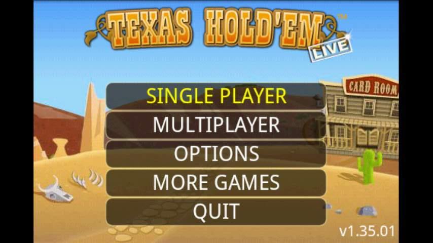 ライブポーカー テキサスホールデム androidアプリスクリーンショット2