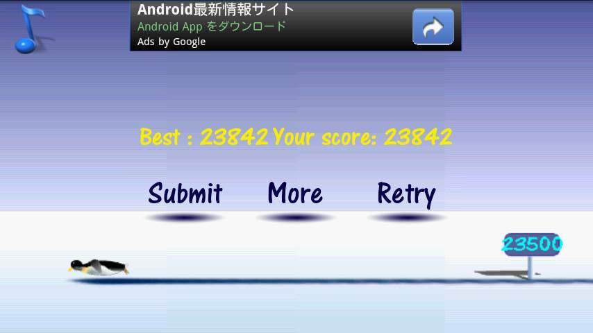 ヒットザペンギン androidアプリスクリーンショット2