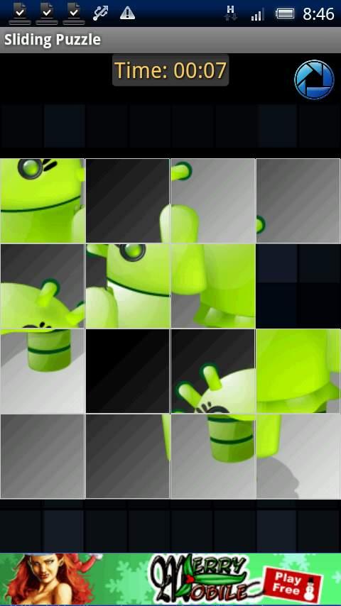アンドロイドサイドパズル androidアプリスクリーンショット1
