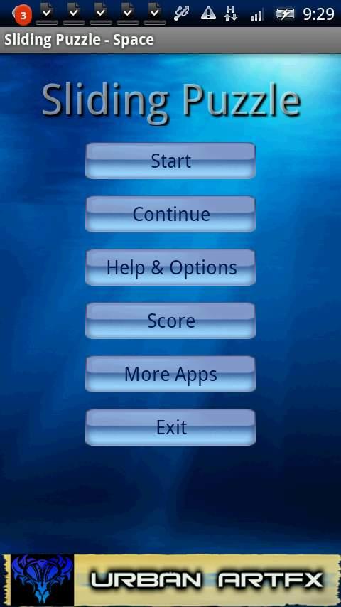 サイドパズルスペース androidアプリスクリーンショット3