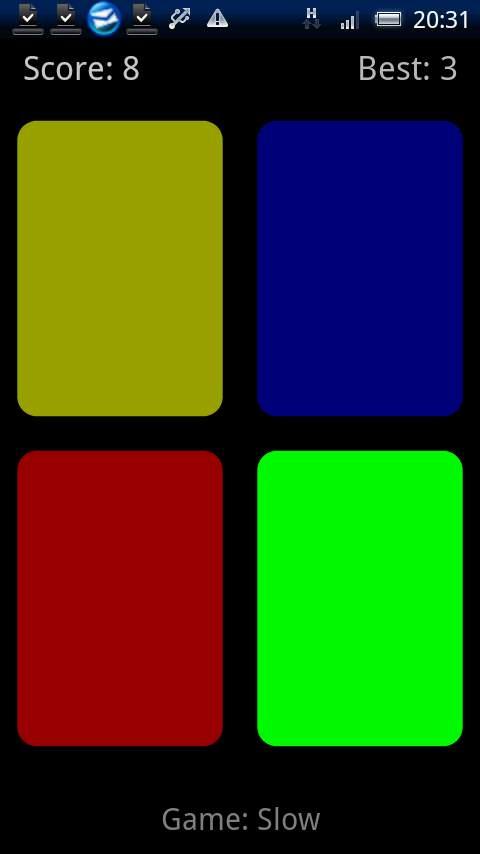 クラシックサイモン androidアプリスクリーンショット1