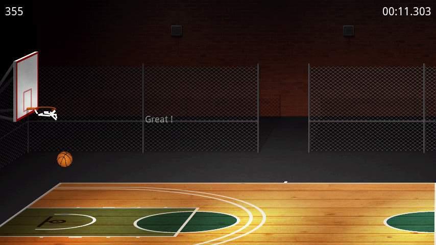 バスケットボール ライト androidアプリスクリーンショット2