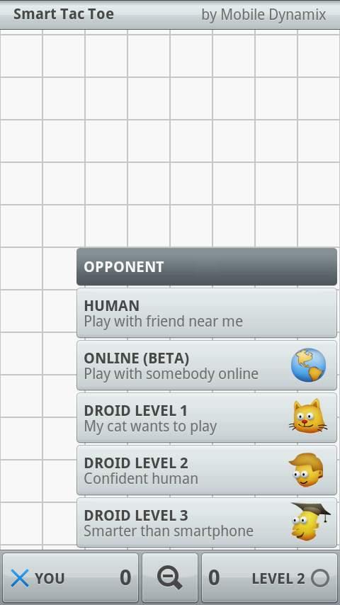スマートタックトーエ androidアプリスクリーンショット2
