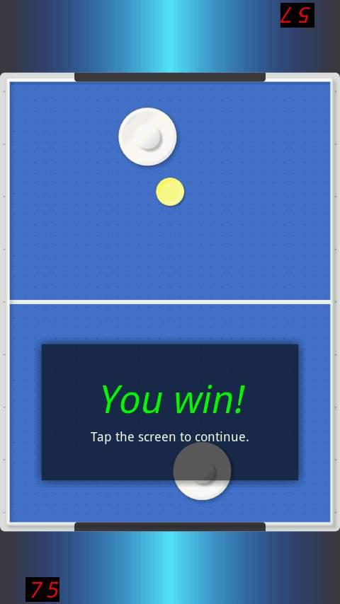 エアホッケーデモ androidアプリスクリーンショット2