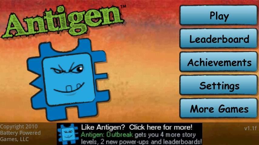 アンチゲン androidアプリスクリーンショット3