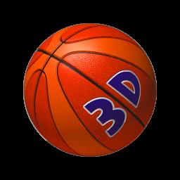バスケットボール ショット 3D