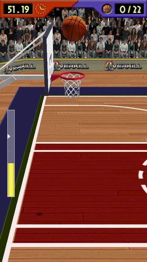 バスケットボール ショット 3D androidアプリスクリーンショット2