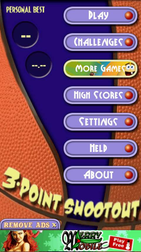 バスケットボール ショット 3D androidアプリスクリーンショット3