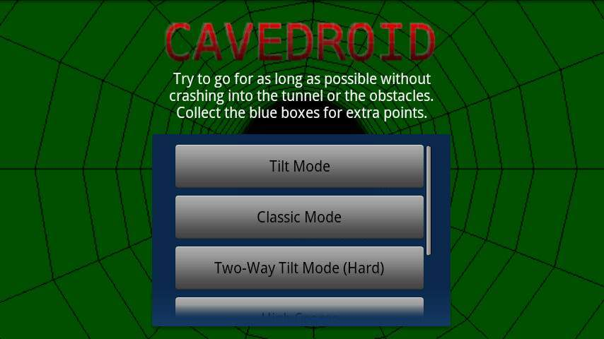 ケイブドロイド androidアプリスクリーンショット3