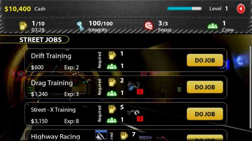 ストリート レーシング 5プレステージ Pts androidアプリスクリーンショット1