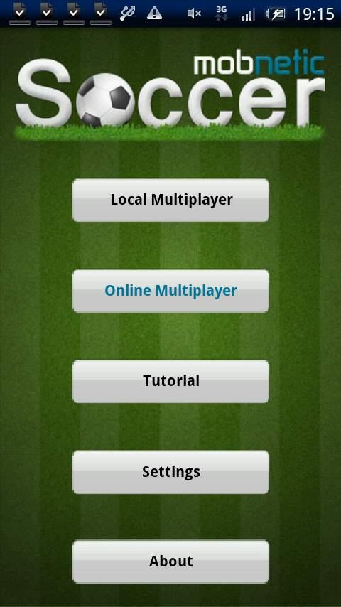 モブネティック サッカー androidアプリスクリーンショット3