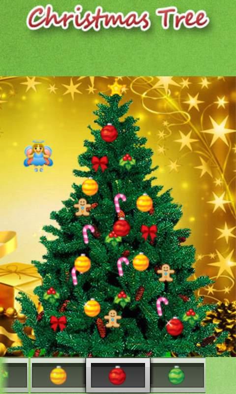 クリスマスツリー androidアプリスクリーンショット1