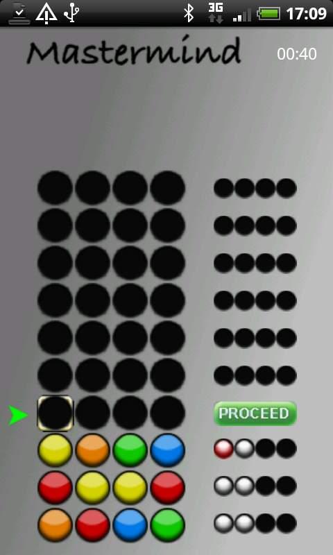 マスターマインド androidアプリスクリーンショット1