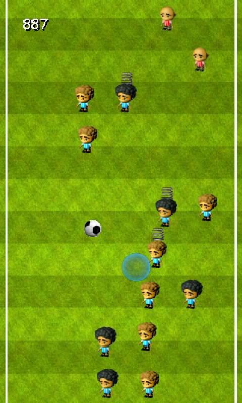 サッカー ジャンプ androidアプリスクリーンショット1