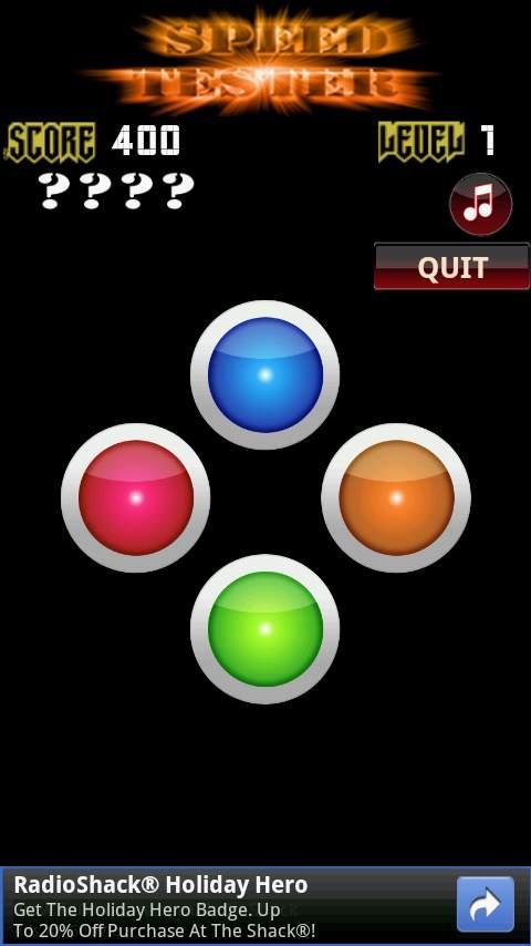 スピードテスター androidアプリスクリーンショット1