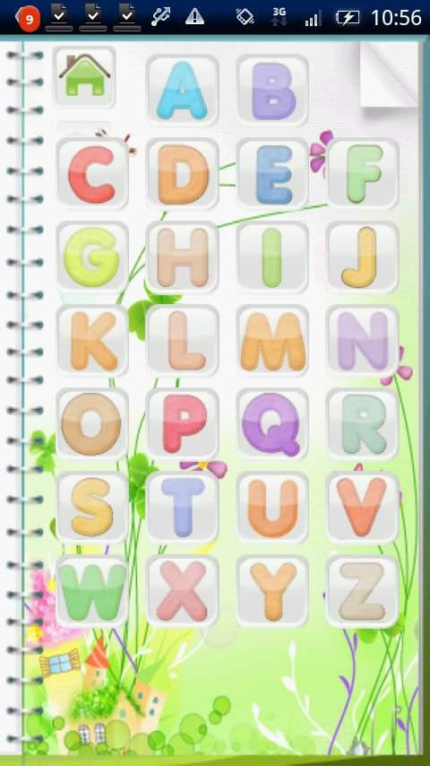 キッズアルファベット ライト androidアプリスクリーンショット1