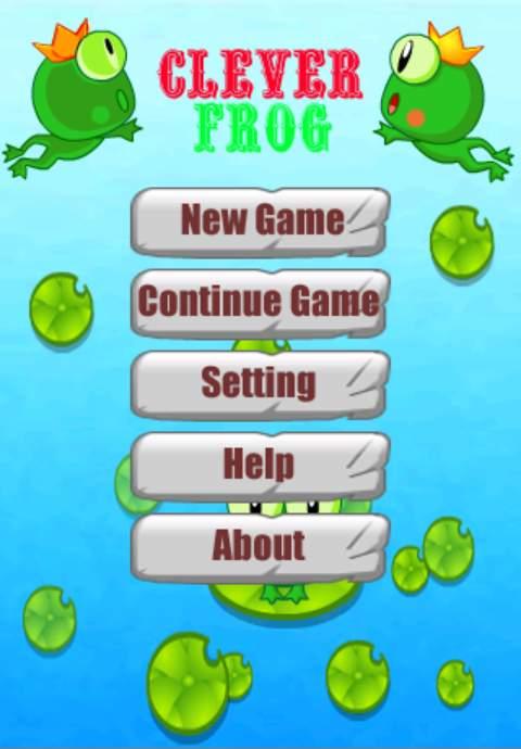クローバーフロッグ androidアプリスクリーンショット1