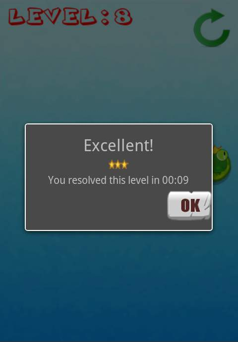 クローバーフロッグ androidアプリスクリーンショット3