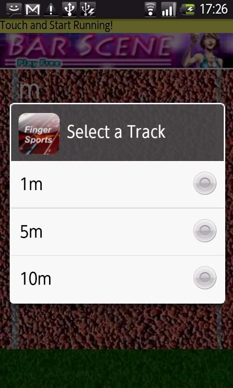 androidアプリ フィンガースポーツ攻略スクリーンショット1