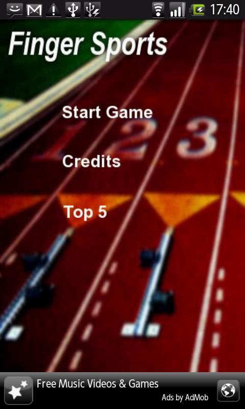 フィンガースポーツ androidアプリスクリーンショット1