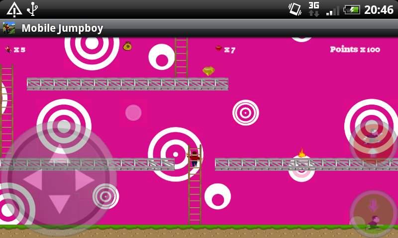 androidアプリ モバイルジャンプボーイ(フル)攻略スクリーンショット1