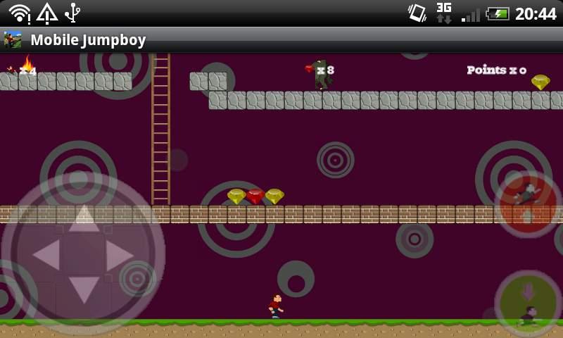 モバイルジャンプボーイ(フル) androidアプリスクリーンショット2