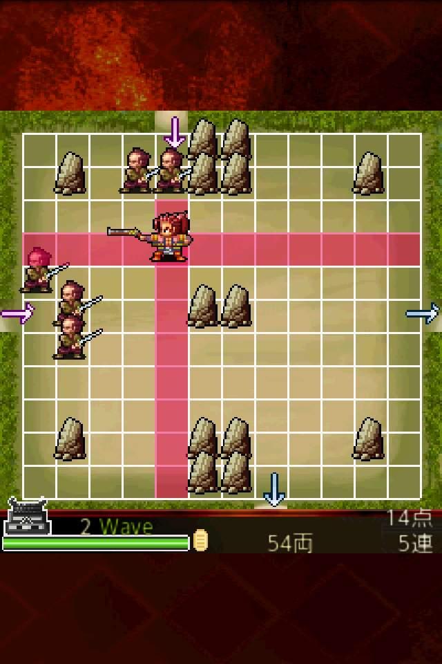 防衛ゲーム 剣豪 前田慶次 androidアプリスクリーンショット2