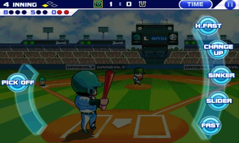 androidアプリ ベースボールスーパースターズ2011攻略スクリーンショット1