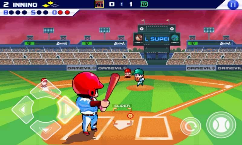 androidアプリ ベースボールスーパースターズ2011攻略スクリーンショット2
