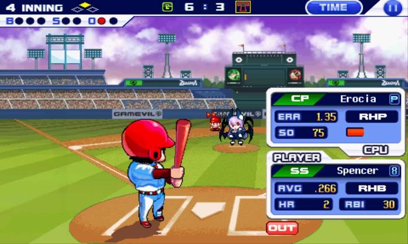 androidアプリ ベースボールスーパースターズ2011攻略スクリーンショット4