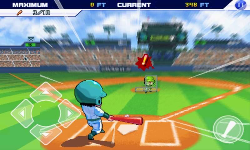 ベースボールスーパースターズ2011 androidアプリスクリーンショット1